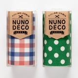Nuno Deco sheet – iron-on fabric tape for patching – 8cm x 50cm