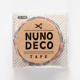 Nuno Deco tape – iron-on fabric tape for patching – 1.5cm x 1.2m