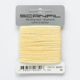 Scanfil mending wool 15m - 2-ply wool/nylon mending yarn