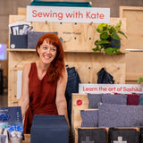 Sewing with Kate sashiko-inspired mending kit