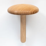Usethings wooden darning mushroom with needle storage