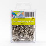 Matilda's Own curved safety pins - pack of 100