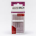 Birch hand-sewing needles - leather needles