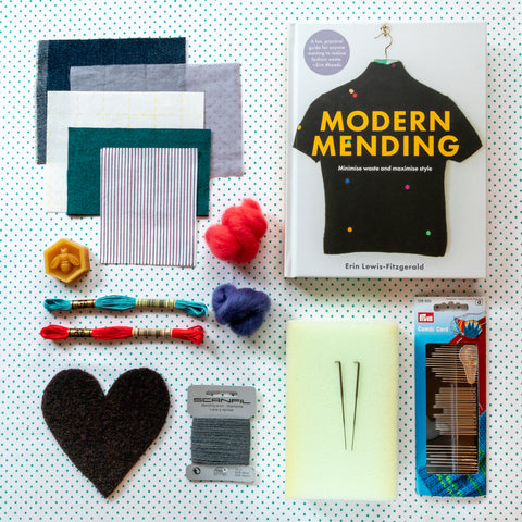 Modern Mending masterclass LIVE online - September-October 2020