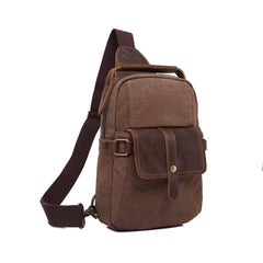 Canvas and Crazy Horse Back Pack|Sach Gefn Crazy Horse a Chynfas