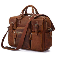 Tan Crazy Horse Travel Pack|Bag Teithio Crazy Horse Tan
