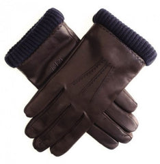 Brown Leather Gloves|Menyg Lledr Brown