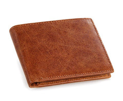 Tan Vintage Crazy Horse Wallet|Waled Crazy Horse Vintage Tan
