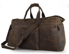 The Ultimate '24' Crazy Horse Travel Bag|Bag Teithio '24' Crazy Horse