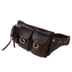 Saddle Multi Pocket Waist Bag|Bag Gwasg Aml Boced