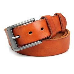 Tan Leather Belt|Belt Lledr Tan