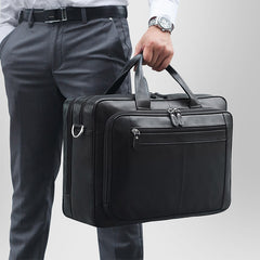 Black Suitcase Attachment Briefcase|Atodiad Teithio Du