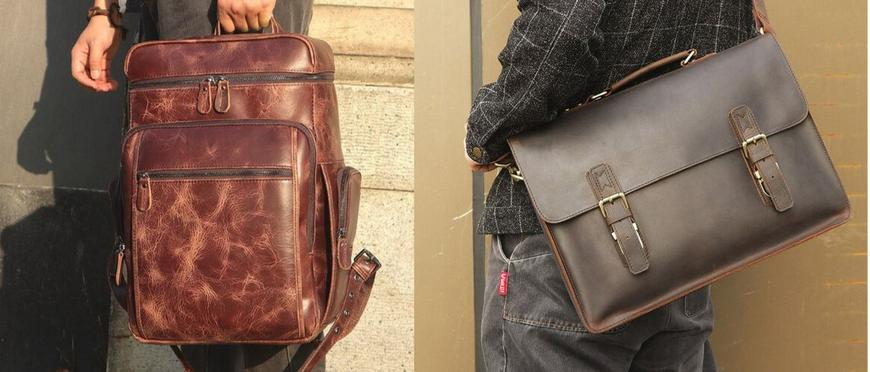 My Leather Manbag