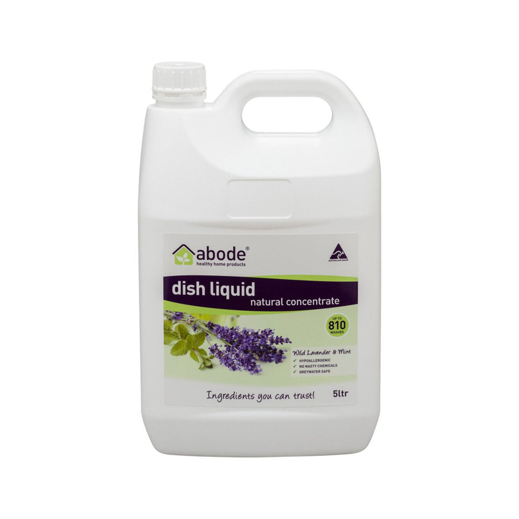 Abode Dish Liquid Concentrate Lavender & Mint 5L - Strive Organic
