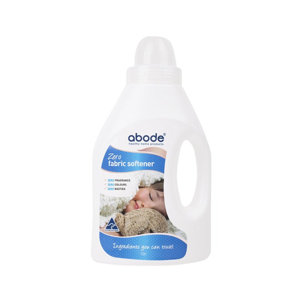 Abode Fabric Softener (Front & Top Loader) Zero 2L - Strive Organic