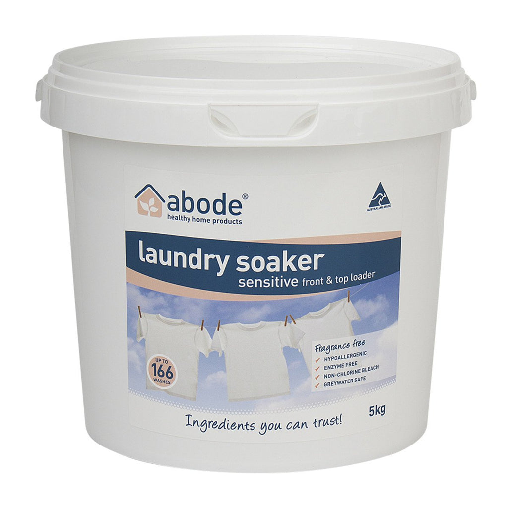 Abode Laundry Soaker (Front & Top Loader) Zero 5kg - Strive Organic