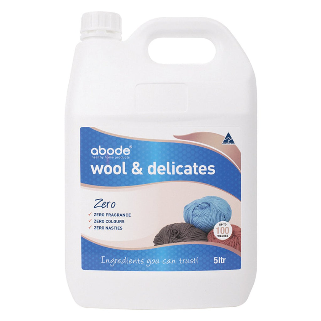 Abode Wool & Delicates (Front & Top Loader) Zero 5L - Strive Organic