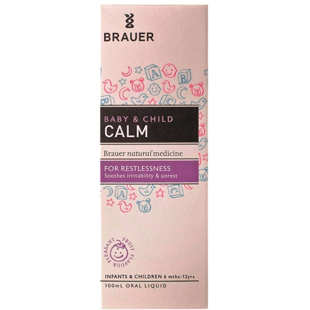 Brauer Baby and Child Calm Oral Liquid 100ml - Strive Organic