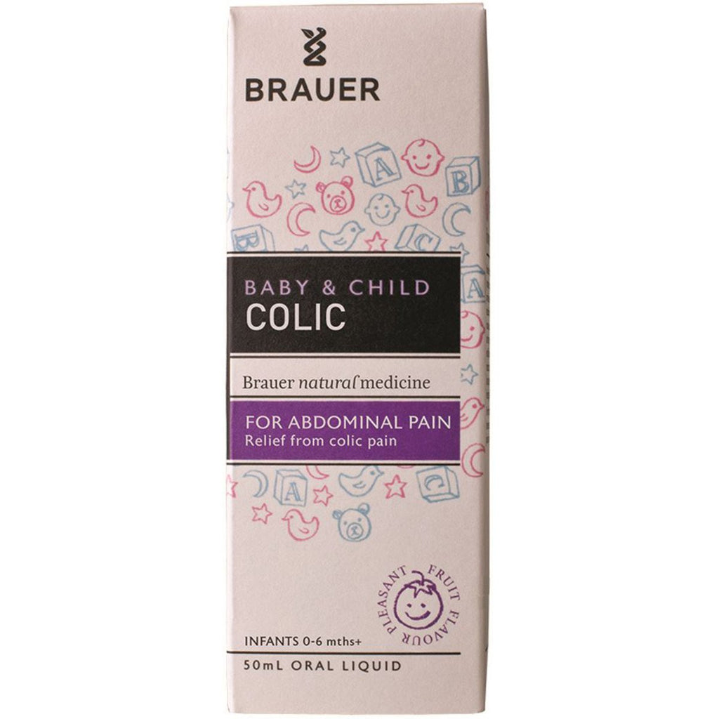 Brauer Baby and Child Colic Oral Liquid 50ml - Strive Organic