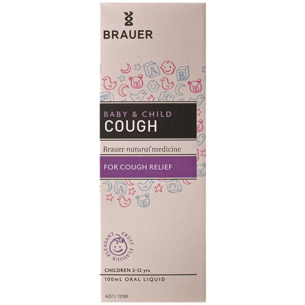 Brauer Baby and Child Cough Oral Liquid 100ml - Strive Organic