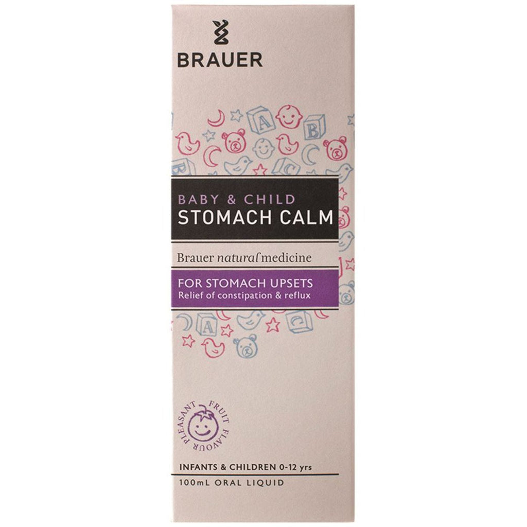 Brauer Baby and Child Stomach Calm Oral Liquid 100ml - Strive Organic