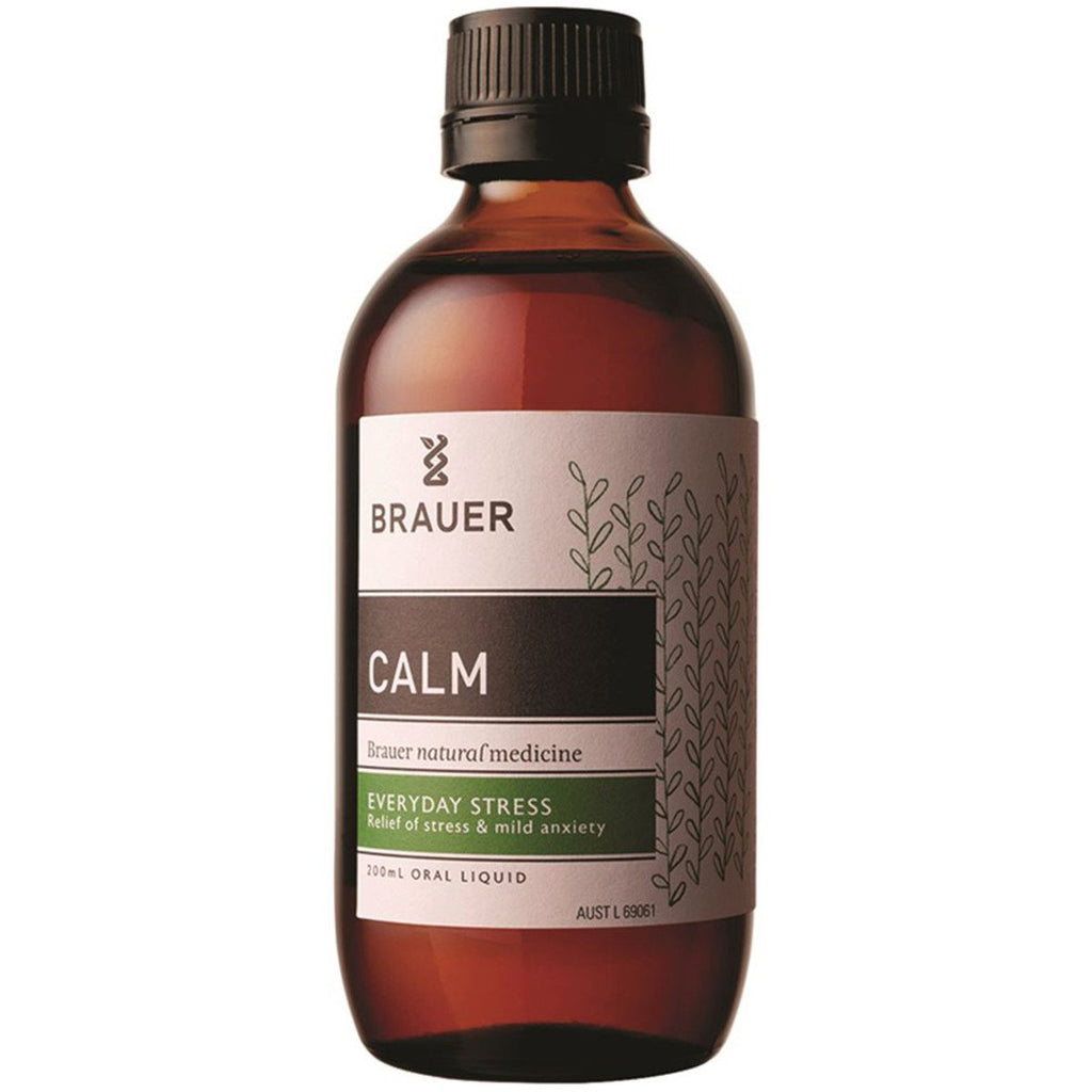 Brauer Calm Oral Liquid 200ml - Strive Organic
