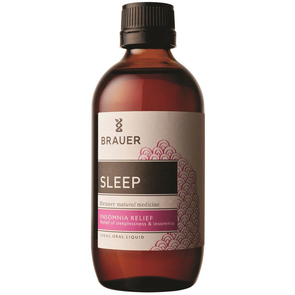 Brauer Sleep Oral Liquid 200ml - Strive Organic