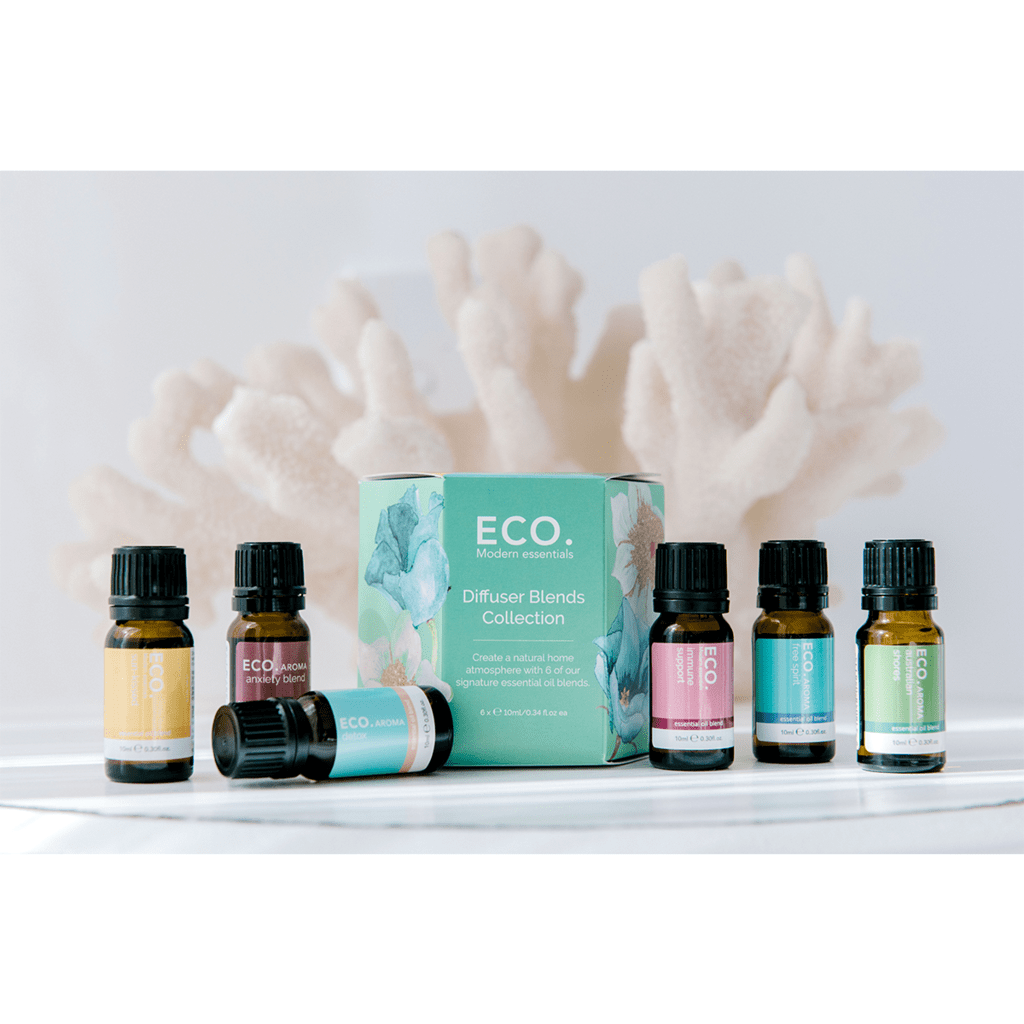 Eco Diffuser Blends Collection 10ml (6 Pack) - Strive Organic
