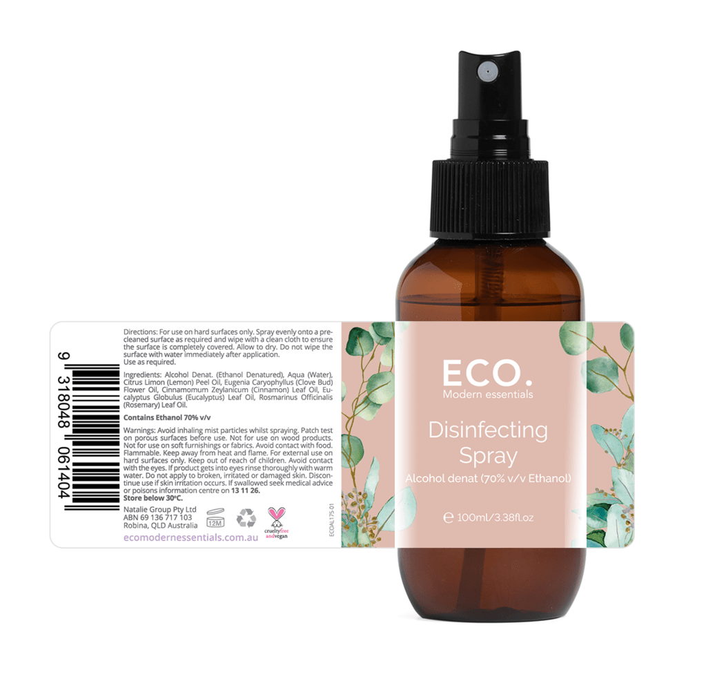 Eco Disinfecting Spray 100ml - Strive Organic