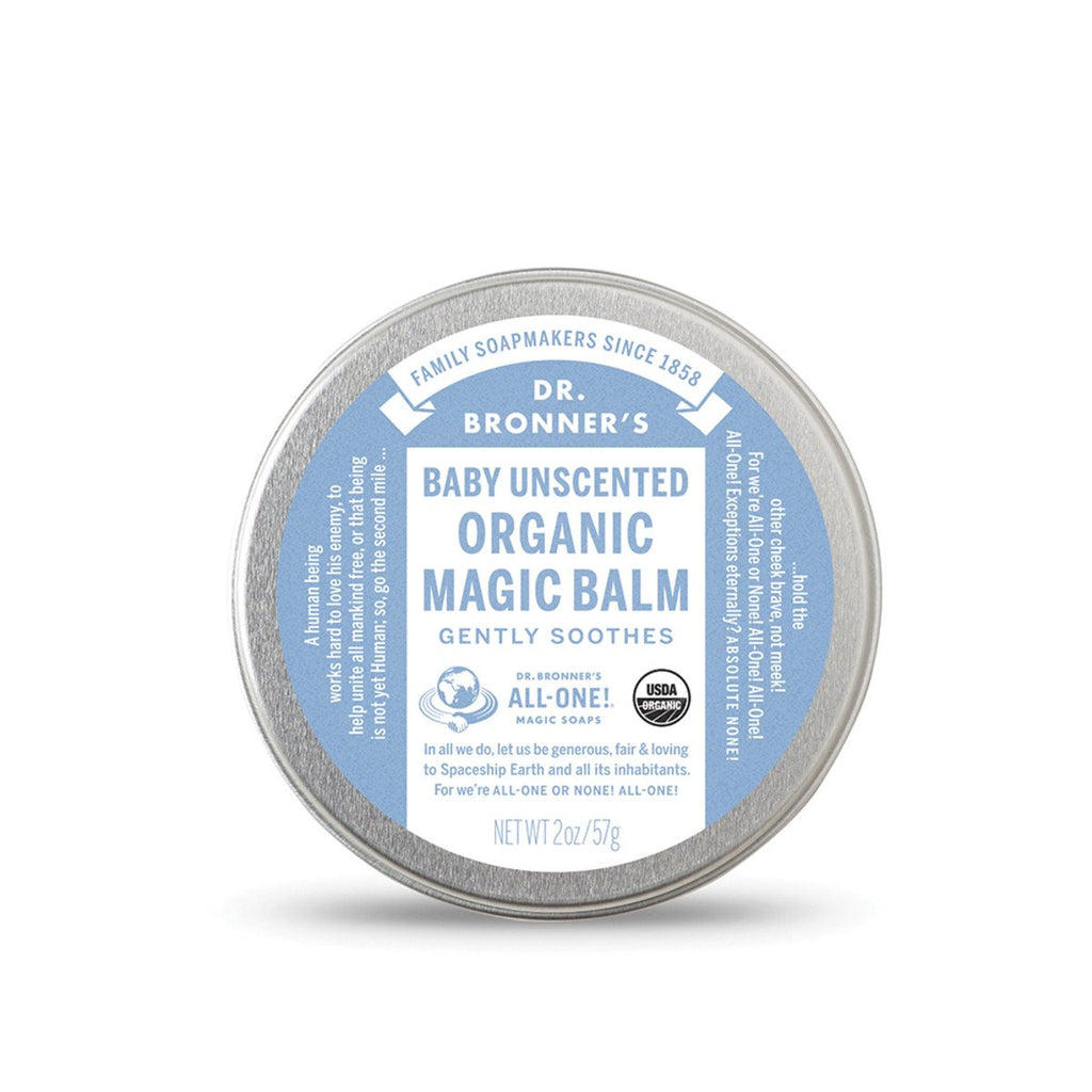 Dr Bronner's Organic Magic Balm Baby Unscented 57g - Strive Organic
