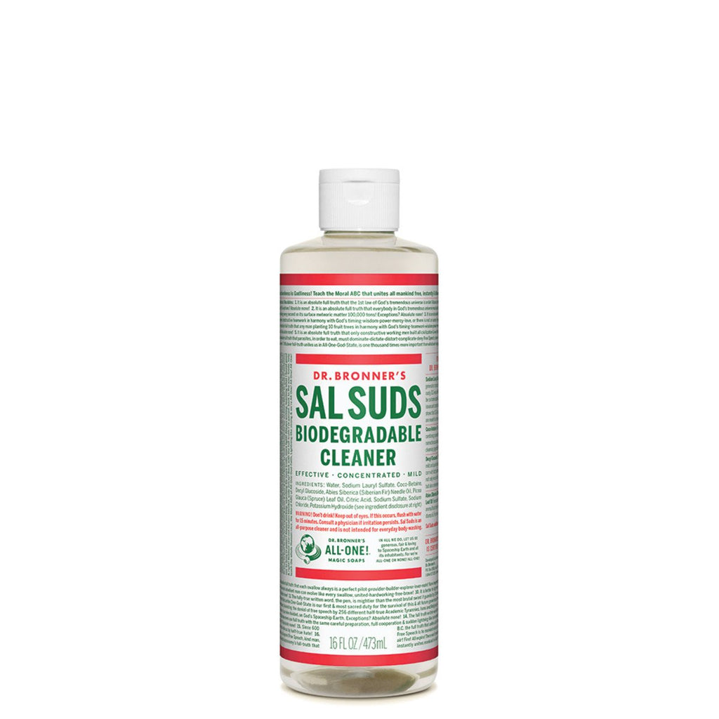 Dr Bronner's Sal Suds Biodegradable Cleaner 472ml - Strive Organic