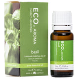 Eco Basil Pure Essential Oil 10ml - Strive Organic