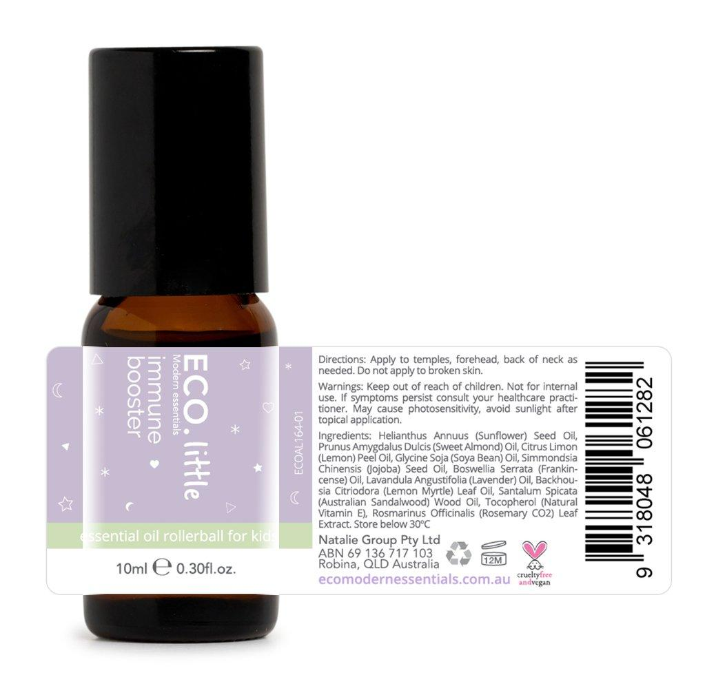 Eco Little Immune Booster Rollerball Essential Oil Blend 10ml - Strive Organic