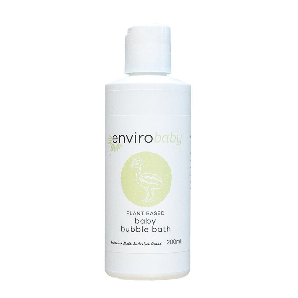 EnviroBaby Plant-Based Baby Bubble Bath 200ml - Strive Organic