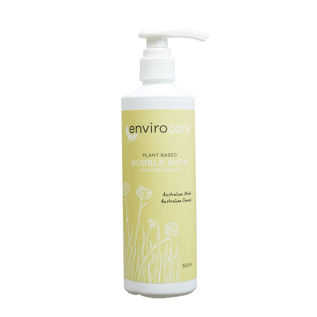 EnviroCare Plant-Based Bubble Bath (Citrus the Emperor) 500ml - Strive Organic