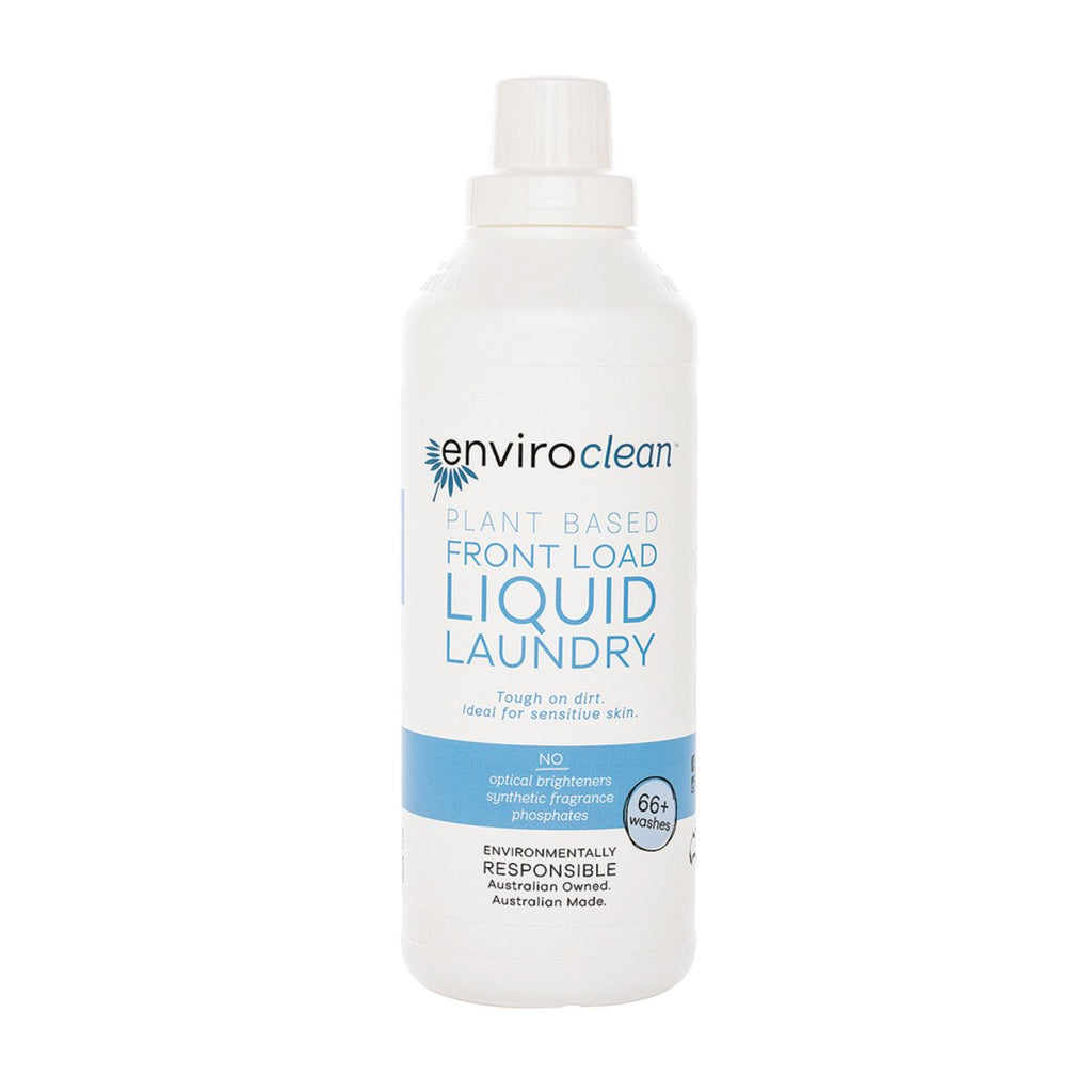 EnviroClean Plant-Based Liquid Laundry Front Load 1L - Strive Organic