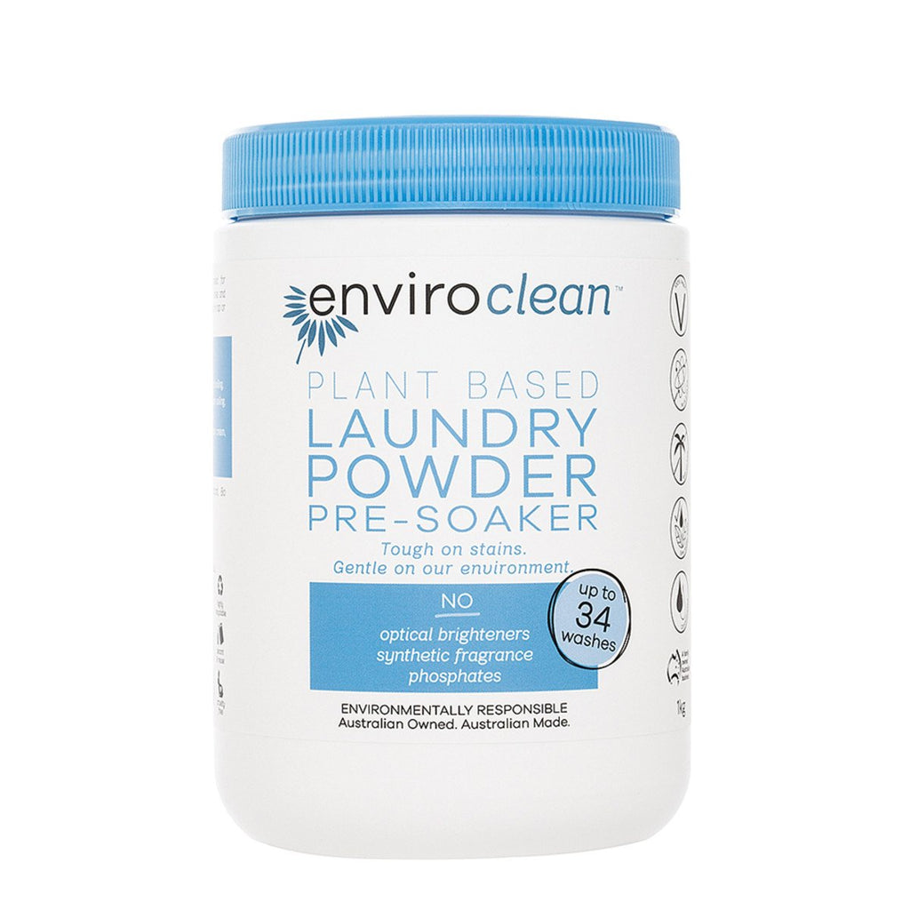 EnviroClean Plant-Based Floor Laundry Powder Pre-Soaker 1kg - Strive Organic