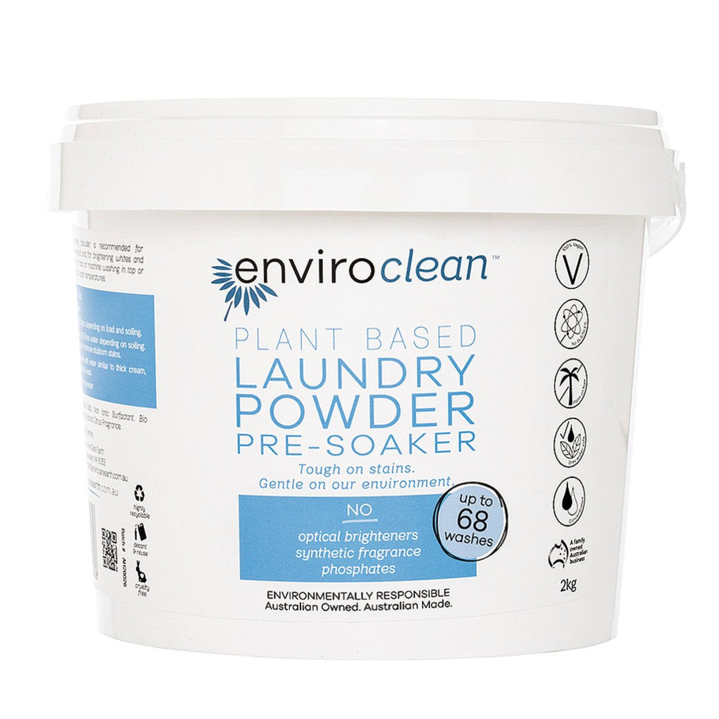 EnviroClean Plant-Based Floor Laundry Powder Pre-Soaker 2kg - Strive Organic
