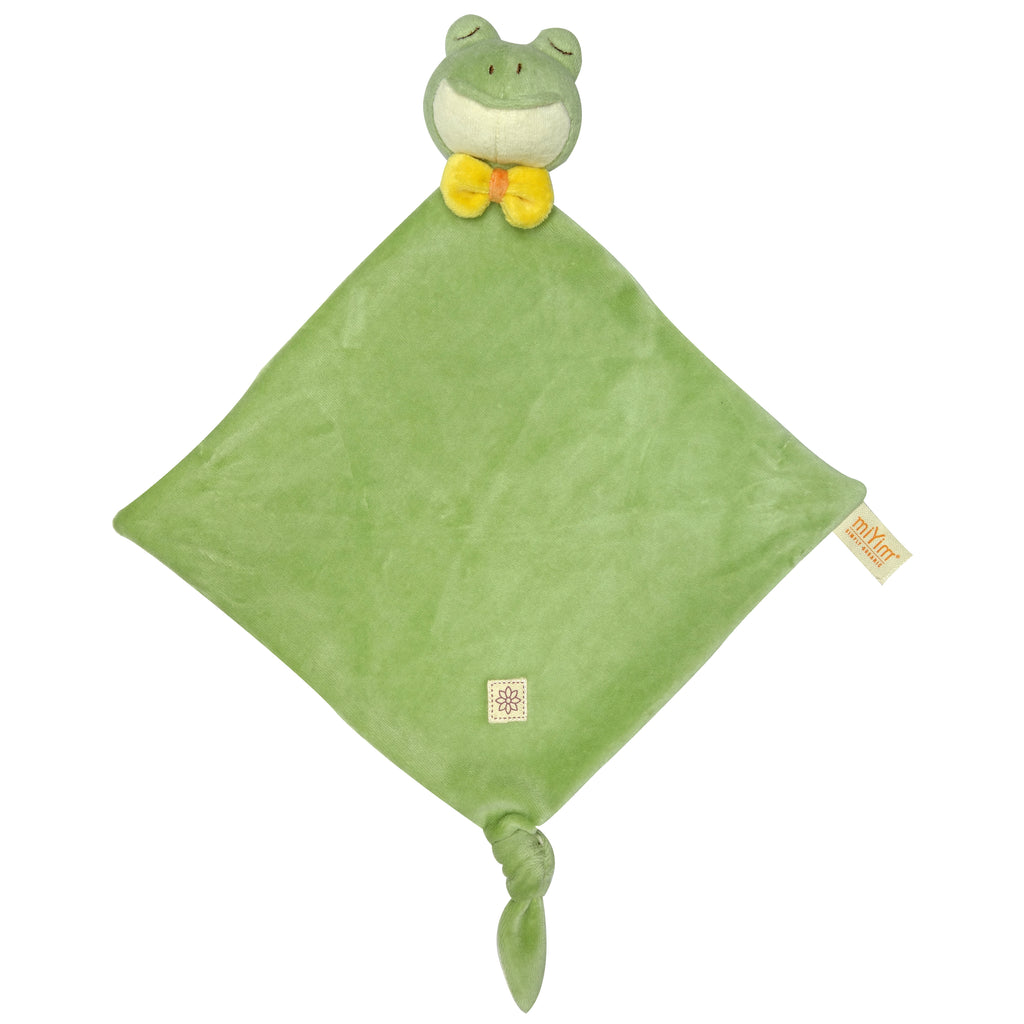 MiYim Knitted Lovie Blanket Frog