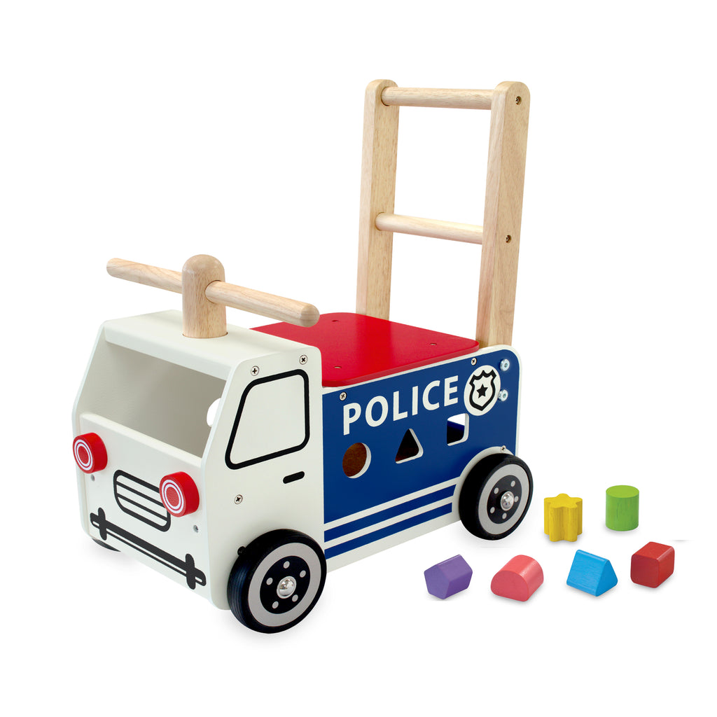 I'm Toy Walk and Ride Police Car Sorter