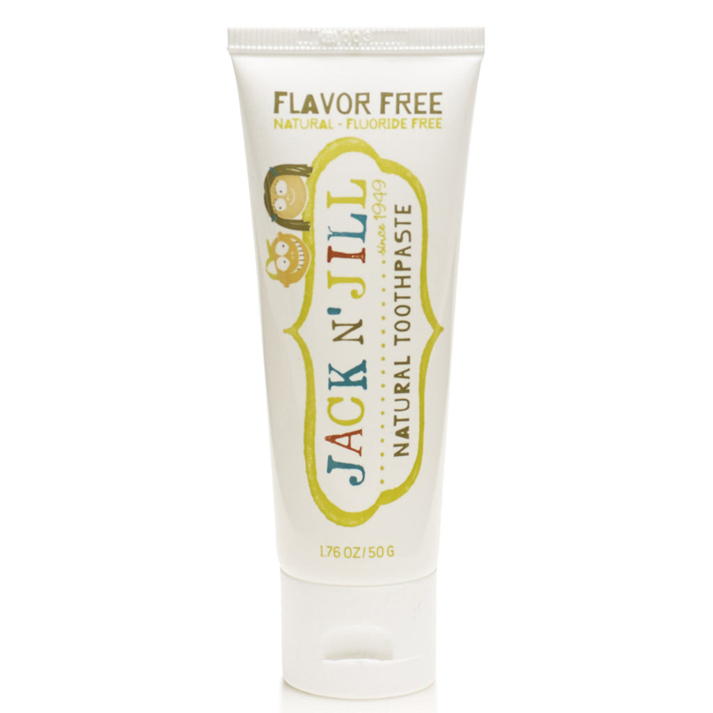 Jack N' Jill Natural Toothpaste (Fluoride Free) Flavour Free 50g