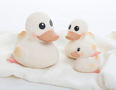 Hevea Natural Rubber Mini Kawan Duck (Powerful Pink)