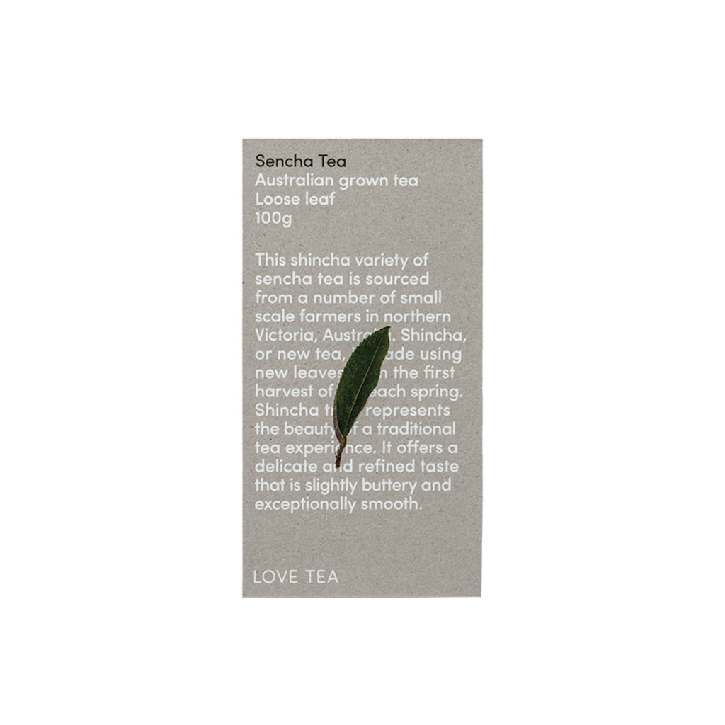 Love Tea Australian Sencha Tea Loose Leaf 100g