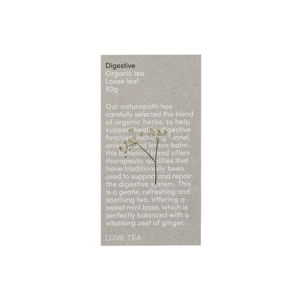 Love Tea Organic Digestive Tea Loose Leaf 60g