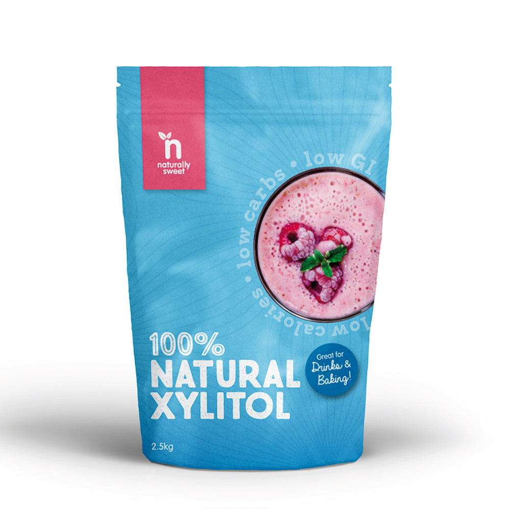 Naturally Sweet 100% Natural Xylitol 2.5kg