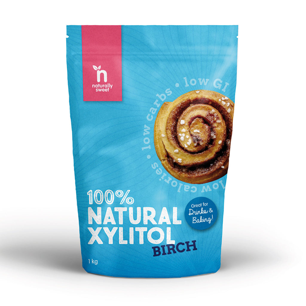 Naturally Sweet 100% Natural Xylitol Birch 1kg