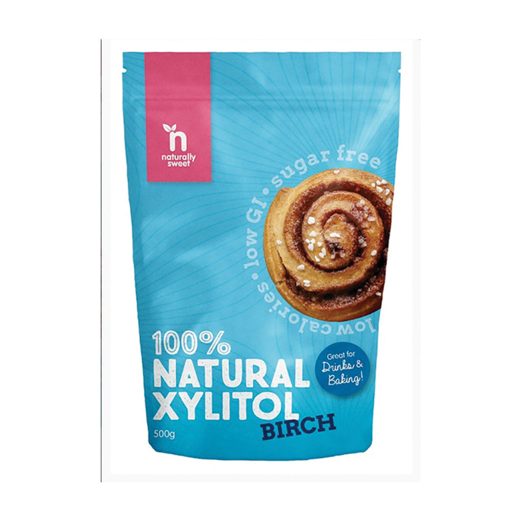 Naturally Sweet 100% Natural Xylitol Birch 500g
