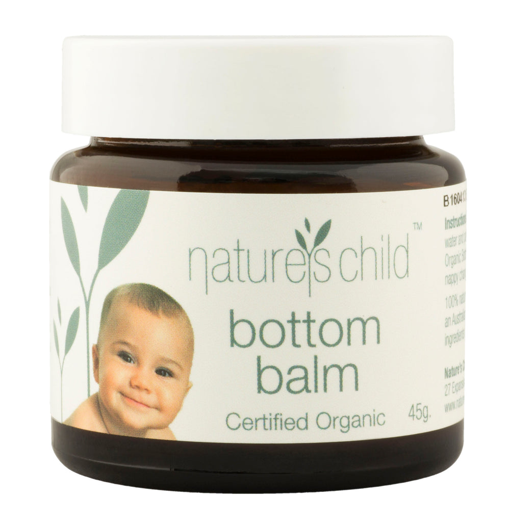 Nature's Child Certified Organic Bottom Balm 85g