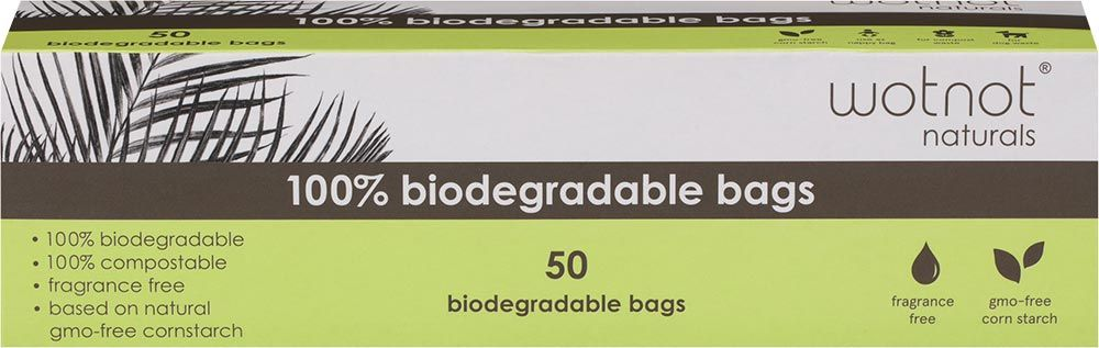 Wotnot Biodegradable Nappy Bags (50 Pack)