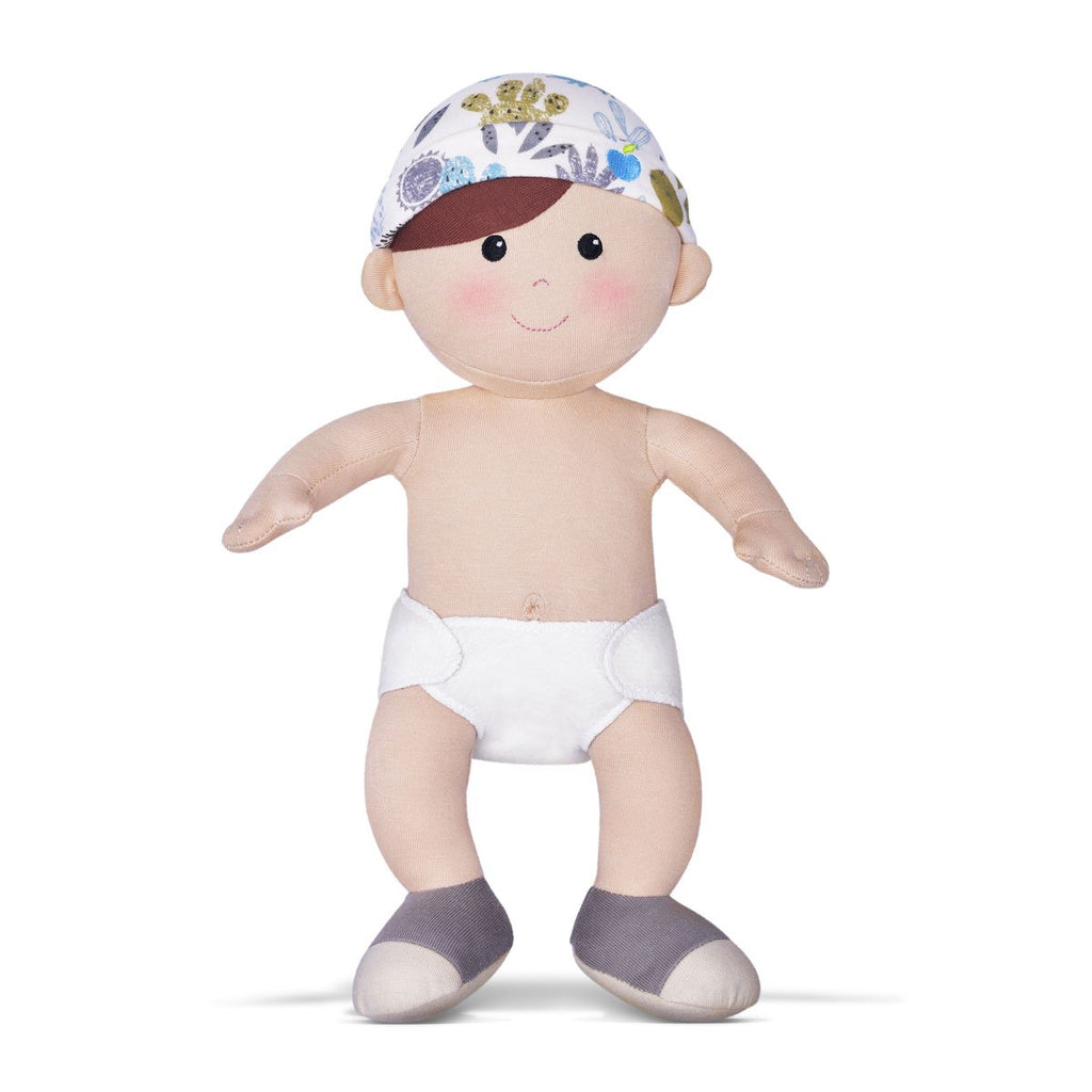Apple Park Enzo Toddler Doll - Strive Organic